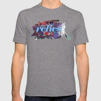 Future Relics Now Mens Fitted Tee Tri-Grey SMALL