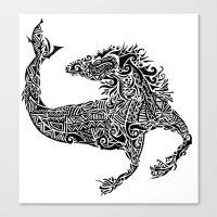 Hippocampus Canvas Print