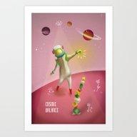 Cosmic Balance Art Print