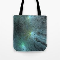 Glow Turquoise Tote Bag