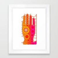 Healing Hand Framed Art Print