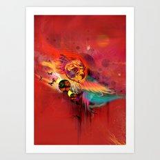 Uncaged Art Print