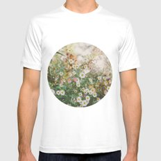 Magical Stories White Mens Fitted Tee SMALL