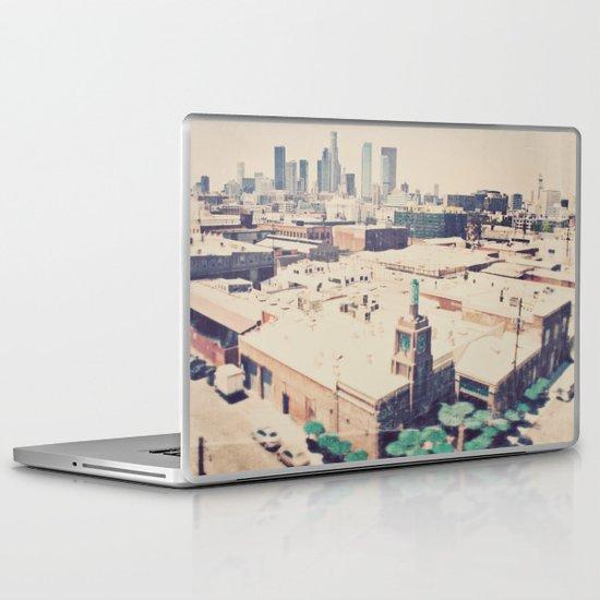 Urth Caffe. Los Angeles skyline photograph Laptop & iPad Skin
