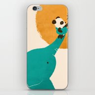 Panda's Little Helper iPhone & iPod Skin