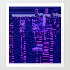 taintedcanvas162 Art Print