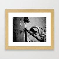 san fran grit Framed Art Print