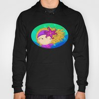 Unique, creative and very colorful, original,digital children illustration Hoody