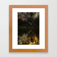 A moment of confusion Framed Art Print