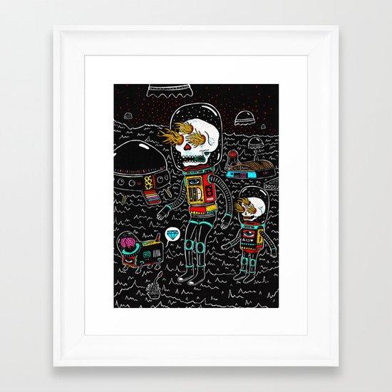 denrobot Framed Art Print