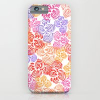 iPhone Cases featuring Flowers Abound by Robin Gayl