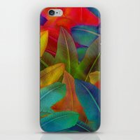 Exotic Leaf Pattern iPhone & iPod Skin