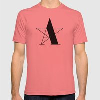 A-star Mens Fitted Tee Pomegranate SMALL
