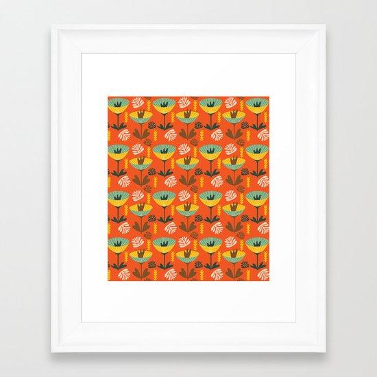 Fall Tango Framed Art Print