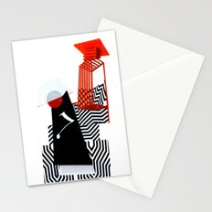 collage love :Monk Stationery Cards