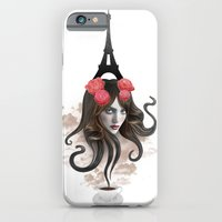 iPhone & iPod Case featuring RECUERDA PARÍS by TOXIC RETRO
