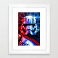 Our Captain Framed Art Print