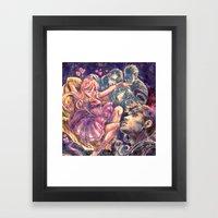 1001 Love Flavors Framed Art Print
