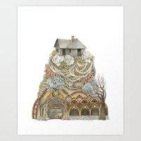 Sweet Home I // Forest I… Art Print