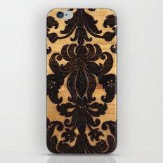 Wood Burnt Damask iPhone & iPod Skin