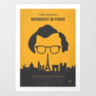 No312 My Midnight In Par… Art Print
