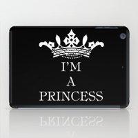I'm a princess III iPad Case
