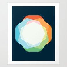 Cacho Shapes XXI Art Print