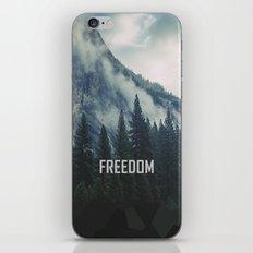 Cross Mountains iPhone & iPod Skin