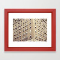 urbanism. Framed Art Print