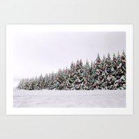 Festive Collage Art Print