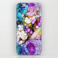 iPhone & iPod Skin featuring Happy Colors by Joke Vermeer