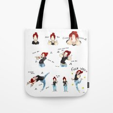 F*CK YOU ! Tote Bag