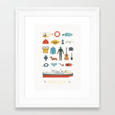 The Captain Jacques Kit Framed Art Print