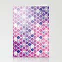 Stars Pattern #001 Stationery Cards