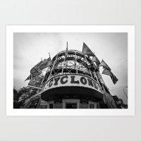 Coney Island Cyclone Art Print