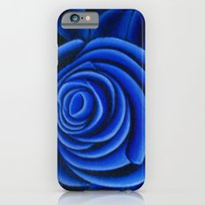 Blue Rose iPhone 6 Slim Case