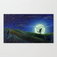 Huckleberry Finn Canvas Print