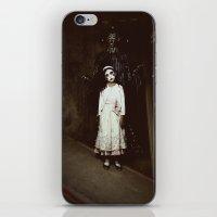 Ghost Girl iPhone & iPod Skin