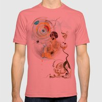 Cosmodigilogital Honey Mens Fitted Tee Pomegranate SMALL
