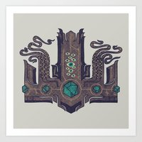 The Crown Of Cthulhu Art Print