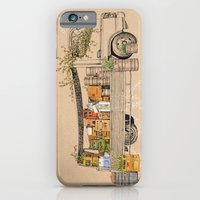 iPhone & iPod Case featuring Green Invasion by florever