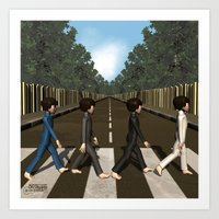 Abbey Road Art Print