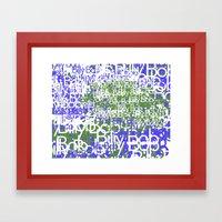 BillyBob Framed Art Print