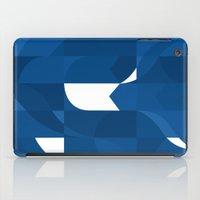 Blue Stamp iPad Case