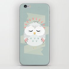 Friendly Owl iPhone & iPod Skin