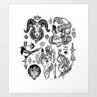 Lesser Alchemy Art Print