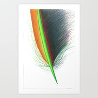 Feather #9 Art Print