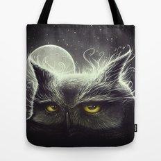 Owl & The Moon Tote Bag
