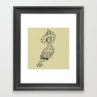Coffee Genie Framed Art Print