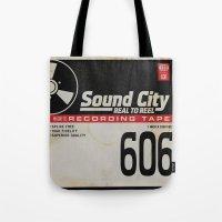 Sound City Tote Bag